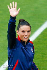 Ali Krieger - Player Introductions (14 May 2016)