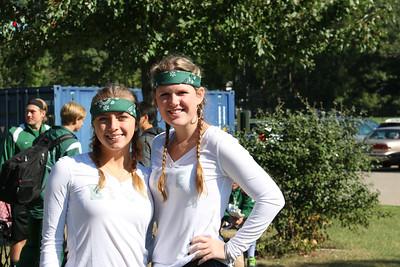 2014 Fall Spirit Week - Green & White Day
