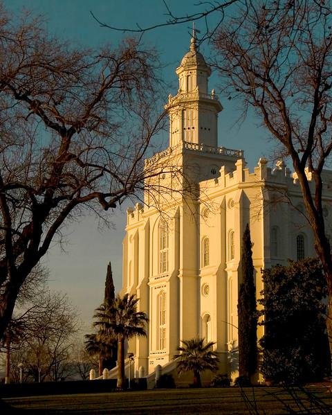St George Temple Sunrise