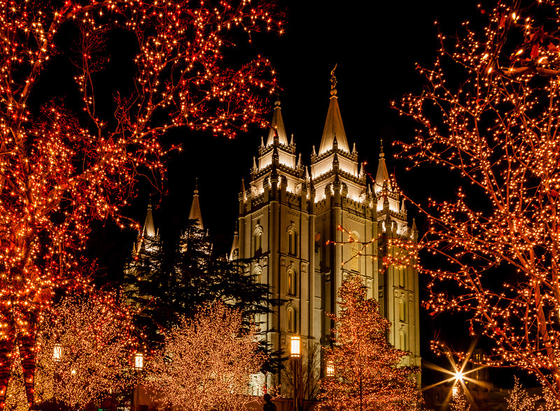 Salt Lake Temple, Salt Lake City, Utah (LDS, Mormon)