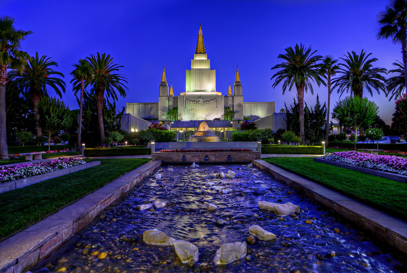 Oakland, California Temple (LDS, Mormon)