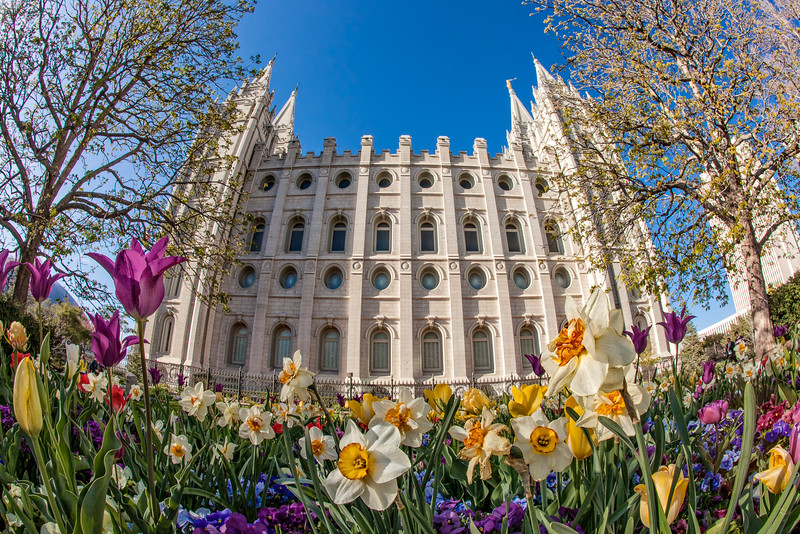 Salt Lake Temple, Salt Lake City, (LDS, Mormon)