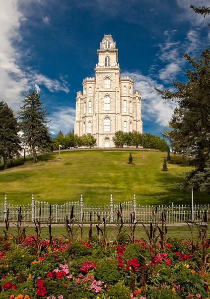Manti Temple (LDS, Mormon)