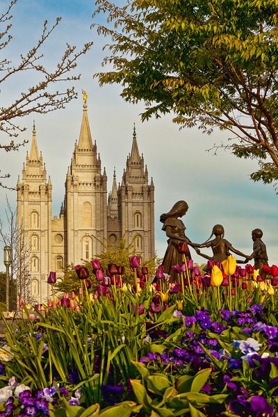 Salt Lake Temple, Salt Lake City, Utah (LDS, Mormon)