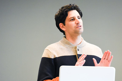 Daniel Seddiqui at Chapel