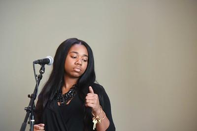 Dr. Margaret Allotey-Pappoe speaks at Chapel