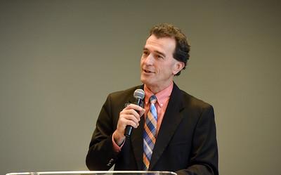 Dr. Scott Morris  in Chapel
