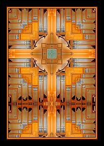 Organ pipes, Mt. Angel Abbey, Oregon