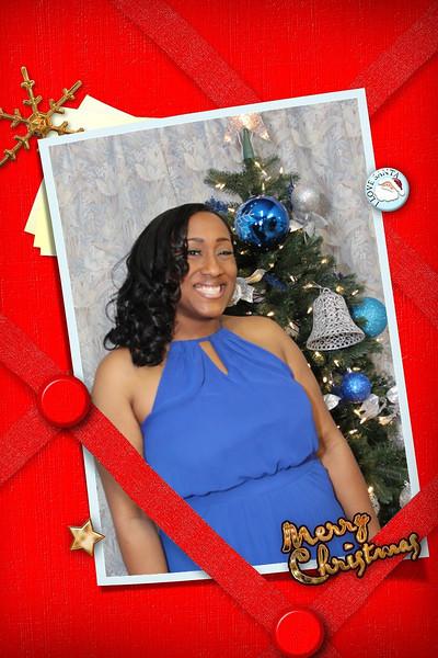 Christmas billboard card Resa