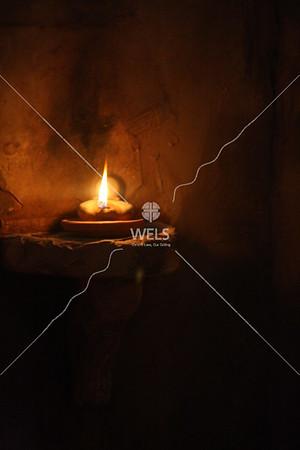 Oil Lamp Lit by jduran