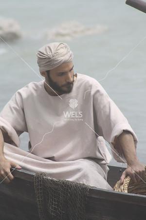 John in Boat by jduran
