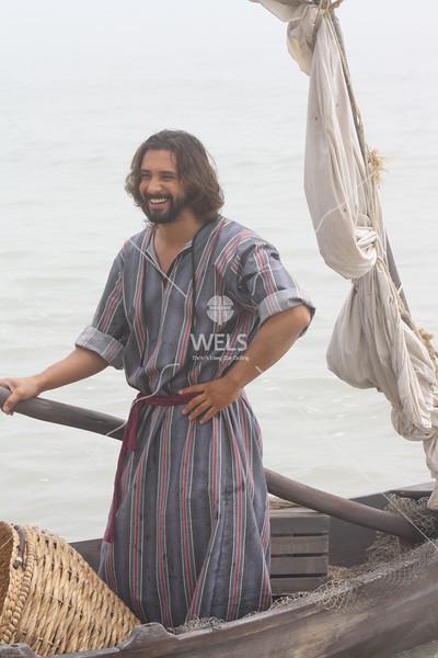 Fisherman Standing by jduran