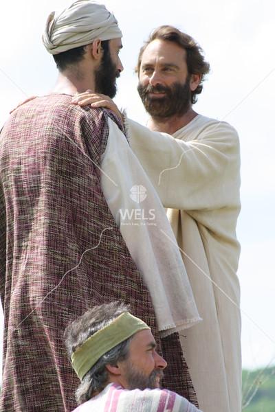 Jesus Greets John by jduran