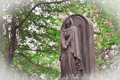 Faithfully Waiting at North Burial Ground, Bristol, RI