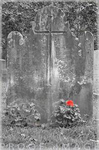Juniper Hill Cemetary headstone, Bristol, RI