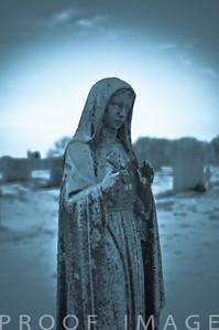 Religious Headstone