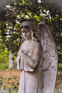 Angel Watching Over at Juniper Hill Cemetary, Bristol, RI