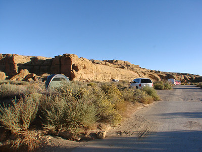 Chaco Culture National Historic Park Campgrounds  http://www.nps.gov/chcu/planyourvisit/campgrounds.htm   Garrick's RV Rental   http://www.garricksrv.com/page/page/3515724.htm