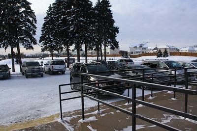 Christmas Program-Dec.2013 - Note, how lovely, a full parking lot.