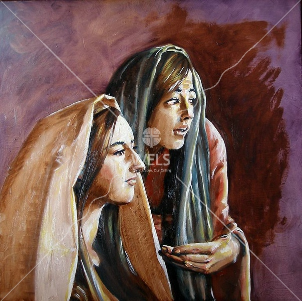 Mary and Martha by jjaspersen