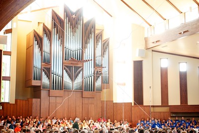 Easter worship at the WELS National Conference on Worship, Music and the Arts by cbassett