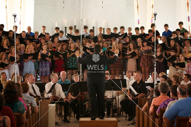 Hymn Festival at the WELS National Conference on Worship, Music and the Arts by cbassett