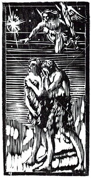 Expulsion from Eden by jjaspersen