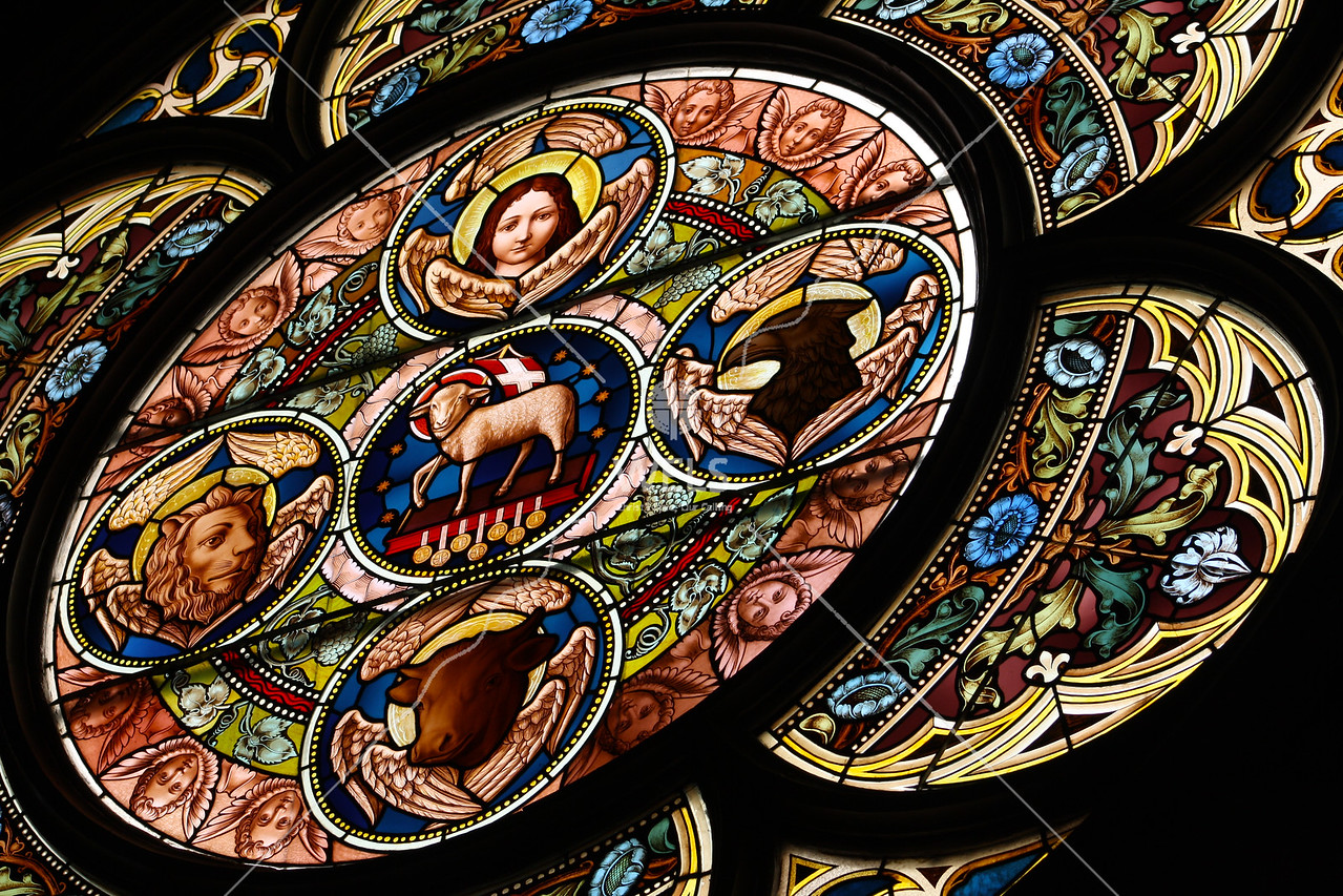 Stained Glass Revelation by jduran