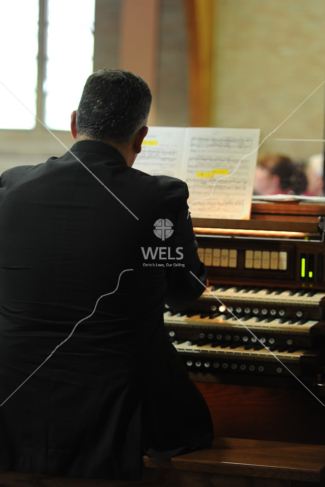 The Organist by wpekrul