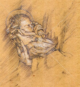 Baby Jesus by jjaspersen