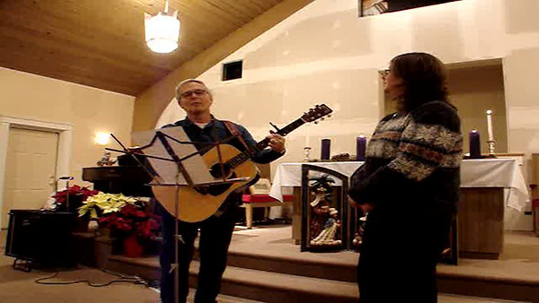 "Larry White and Elizabeth Loring, ""Angels We Have Heard on High"""