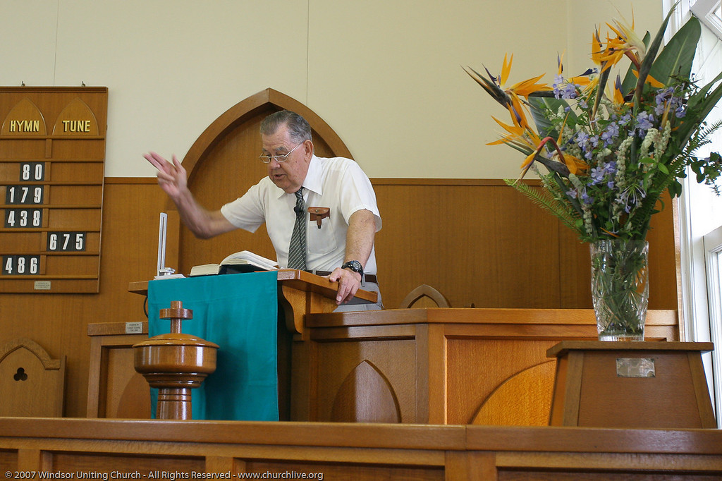 "churchlive.org - ""Step into the Light"" - Windsor Uniting Church, Brisbane, Queensland, Australia, 2008."