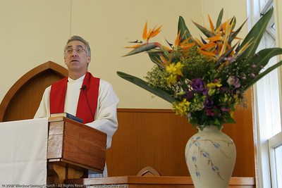 "Rev Dan Skippen - churchlive.org - ""Step into the Light"" - Windsor Uniting Church, Brisbane, Queensland, Australia."