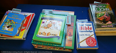 Sunday School prizes - churchlive.org - Windsor Uniting Church, Brisbane, Queensland, Australia, 2008.