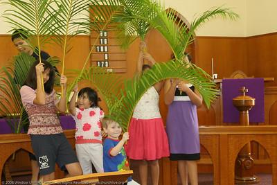 Palm Sunday - churchlive.org - Windsor Uniting Church, Brisbane, Queensland, Australia, 2008.