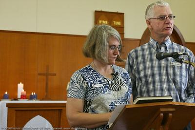 Special Easter Day/Resurrection Liturgy - Linda  & Mal Hamill - churchlive.org - 'Step into the Light' - Windsor Uniting Church, Brisbane, Queensland, Australia.
