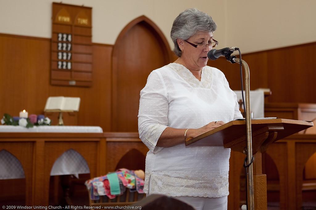 Keren Seto - churchlive.org - 'Step into the Light' - Windsor Uniting Church, Brisbane, Queensland, Australia.