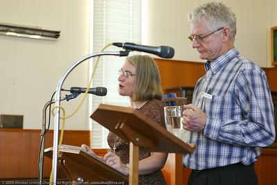 Special Liturgy - churchlive.org - Step into the Light - Windsor Uniting Church, Brisbane, Queensland, Australia.