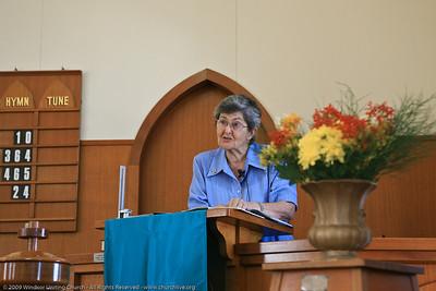 Guest Sue Ramm - churchlive.org - Windsor Uniting Church, Brisbane, Queensland, Australia