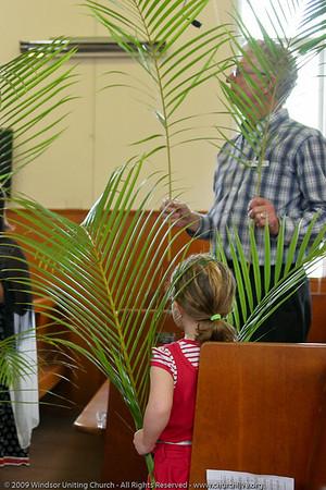 Palm Sunday - churchlive.org - Step into the Light - Windsor Uniting Church, Brisbane, Queensland, Australia