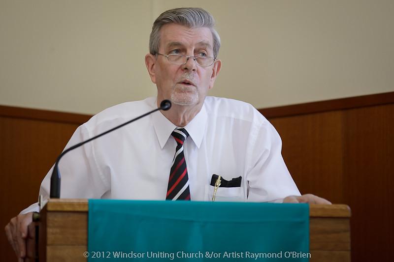 Sermon - Rev Peter Clark - Churchlive.org - 'Step Into the Light' - Streaming Church Netcast from Windsor Uniting Church, Brisbane, Queensland, Australia.