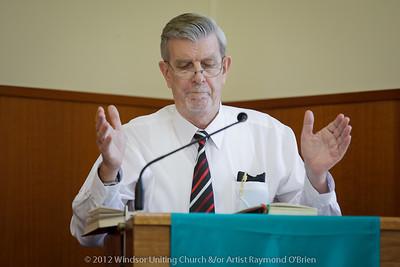 Benediction - Rev Peter Clark - Churchlive.org - 'Step Into the Light' - Streaming Church Netcast from Windsor Uniting Church, Brisbane, Queensland, Australia.