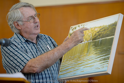 Raymond O'Brien - Churchlive.org - 'Step Into the Light' - Streaming Church Netcast from Windsor Uniting Church, Brisbane, Queensland, Australia.