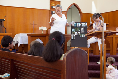 Children's Address - churchlive.org - Windsor Uniting Church, Brisbane, Australia  - Rev Keren Seto