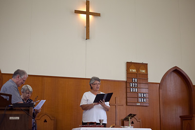 The sacrament of Holy Communion - churchlive.org - Windsor Uniting Church, Brisbane, Australia