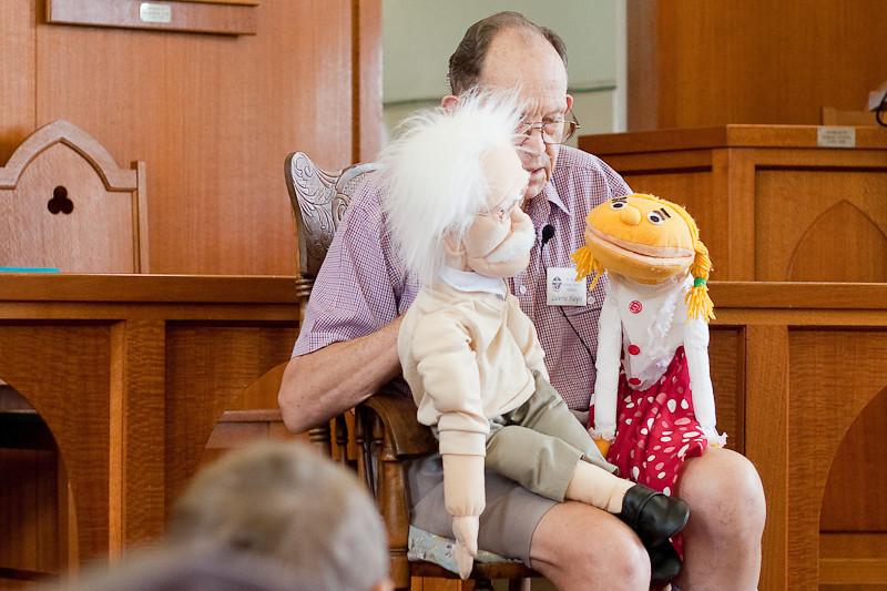 churchlive.org - Windsor Uniting Church, Brisbane, Australia - Children's Talk by Lawrie Hayes