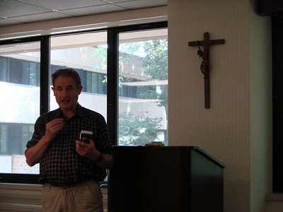 "Diarmuid O'Murchu, ""Finding God in Creation's Story"" Bon Secours Spiritual Center, Marriottsville, MD, June, 2009"