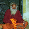 When you meditate, you watch how thoughts rise and fall away. You observe. You find the center between one thought and the next. Then thoughts slow down, and in between there is silence. This is how God consciousness develops. Another approach is repeating a mantra, filling your thoughts with it, dissolving those thoughts, and becoming a stream of mantra that dissolves into silence. —Mark Dyczkowski,  <i> Yoga+ </i> <i> L2104 Chatnag Swami, Allahabad </i>