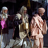 Every step I take in the light is mine forever. —Swami Vivekananda <i> L2734 blind sadhus, Rishikesh </i>