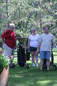 Golf Outing after Church, August 21, 2011